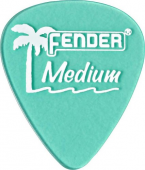 Fender California Clear Picks, 12 Pack, Medium, Ca